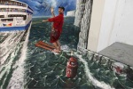 3Dstreetart-waterski